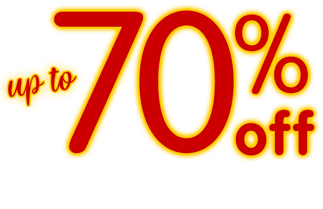 Summer Countdown Sale! up to 70% off select favorites