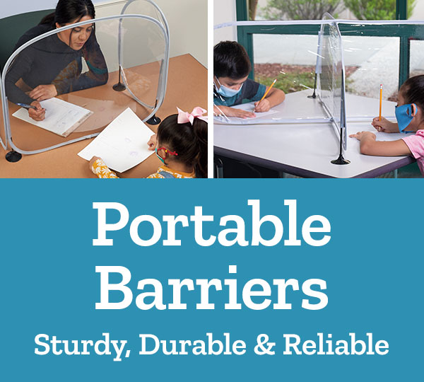 Portable Barriers - Sturdy, Durable & Reliable