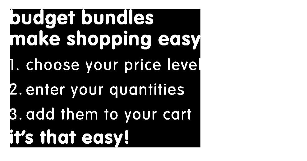 Budget Bundles