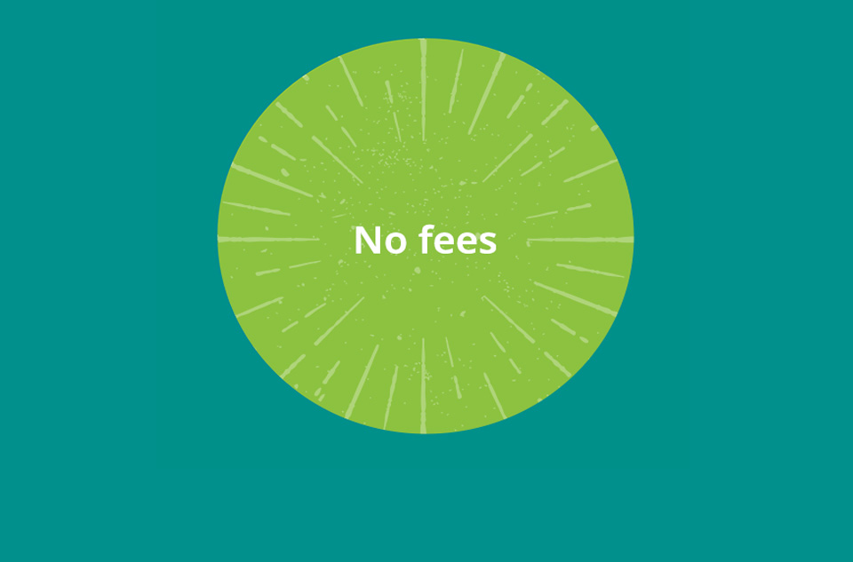 No fees: 100% of donations go to wish list items.