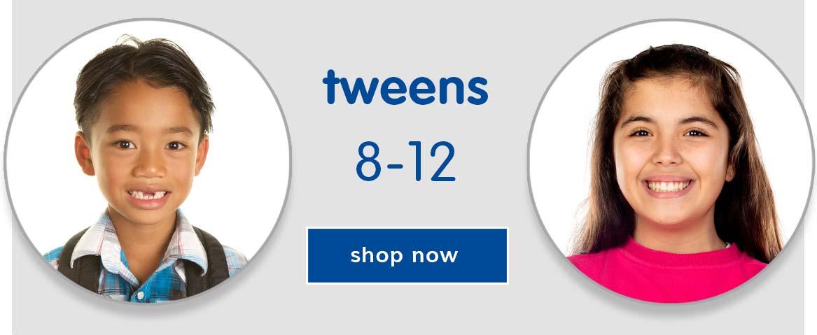 Shop by Age - Tweens