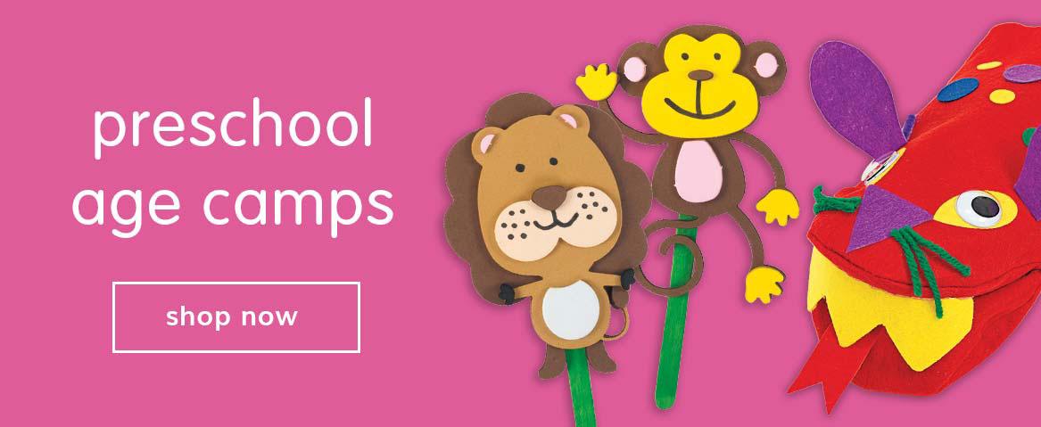 preschool age camps