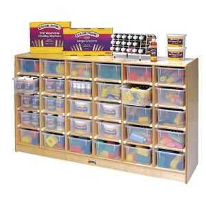 Jumbo 30-Tray Mobile Storage