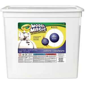 White Crayola® Model Magic® Modeling Clay - 2 lbs.