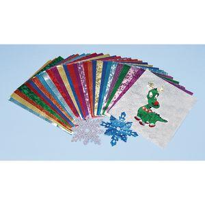 Embossed Foil Paper - 30 Sheets