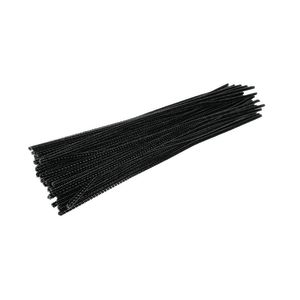 Colorations® Pipe Cleaners, Black - Pack of 100