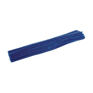 Colorations® Pipe Cleaners, Blue - Pack of 100