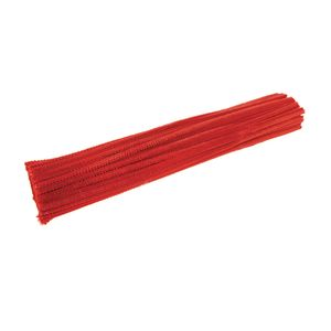 Colorations® Pipe Cleaners, Red - Pack of 100