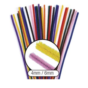 Colorations® Thick Pipe Cleaners - Pack of 100