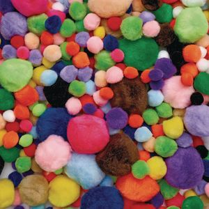 Colorations® Pom-Poms - 300 Pieces