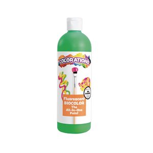 BioColor® Paint, Fluorescent Green - 16 oz.