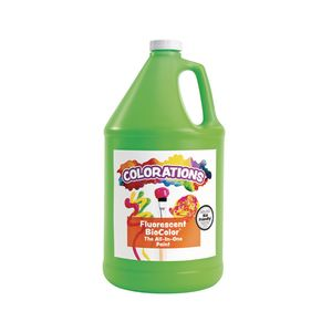 BioColor® Paint, Fluorescent Green - 1 Gallon