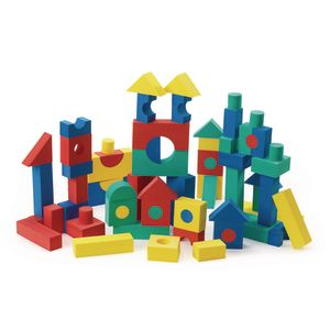 Foam Tabletop Unit Blocks - 68 Pieces