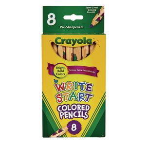 Crayola® Write-Start® Colored Pencils - Set of 8