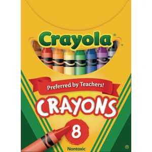 Crayola® Regular Crayons, Set of 8