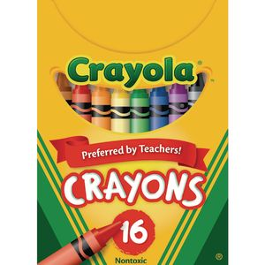 Crayola® Regular Crayons - Set of 16