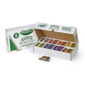Crayola® Regular Crayons Classpack® - 8 Colors, Set of 800
