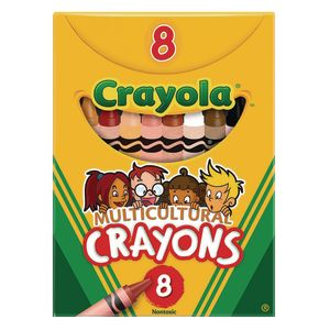Crayola® Multicultural Crayons - Set of 8
