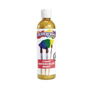 Colorations® Gold Liquid Watercolor Paint, 8 oz.