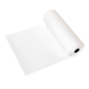 "24"" x 1000' White 50 lb. Butcher Paper Roll"