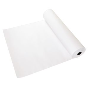 "36"" x 1000' White 50 lb. Butcher Paper Roll"