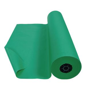 Colorations® Dual Surface Paper Roll, Bright Green, 36