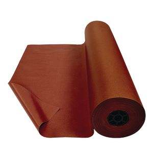 Colorations® Dual Surface Paper Roll, Brown, 36