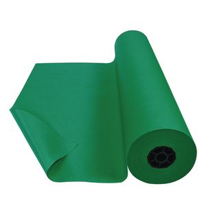 Colorations® Dual Surface Paper Roll, Holiday Green, 36