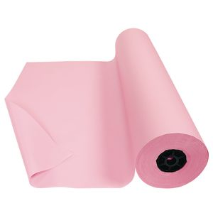 "Colorations® Dual Surface Paper Roll, Pink, 36"" x 1000'"