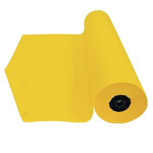Colorations® Dual Surface Paper Roll, Yellow, 36