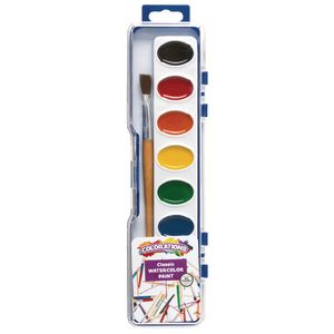 Colorations® Regular Best Value Watercolor Paints, 8 Colors