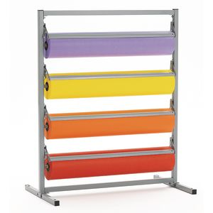 Floor Butcher Roll Rack without casters
