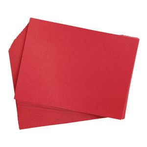 """Holiday Red 9"""" x 12"""" Heavyweight Construction Paper Pack - 50 Sheets"""