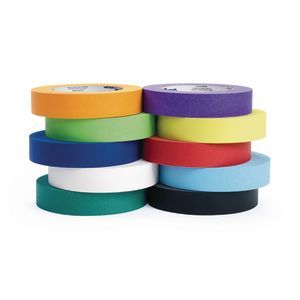 "1"" Colored Masking Tape - Set of 10"