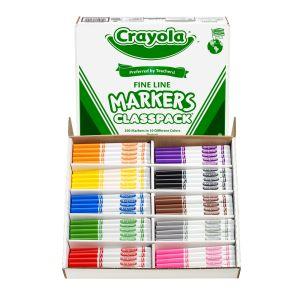 Crayola® Fine Tip Marker Classpack®, Set of 200
