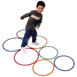 "14"" Brawny Tough Activity Hoops - Set of 10"