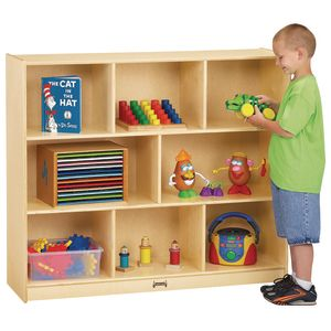 "42"" High 3-Tier Mobile Shelving Unit"
