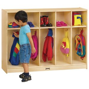 5-Section Toddler Locker - Assembled