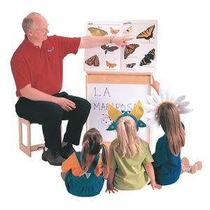 Write-n-Wipe Front Mobile Big Book Easel
