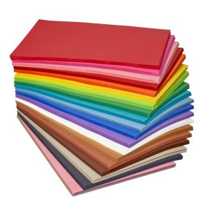 "Set of  24 - 12"" x 18"" Heavyweight Construction Paper"