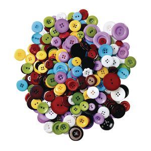 Colorations® Assorted Grandma's Buttons - 1 lb.