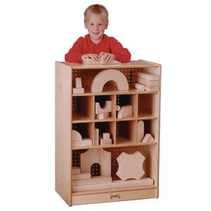 Easy-Sort Mobile Block Storage Unit