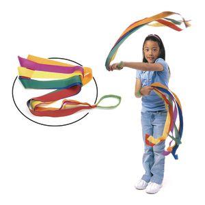 Rainbow Dancing Wrist Bands - Set of 6