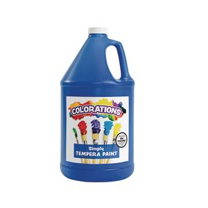 Colorations® Simply Tempera Paint, Blue - 1 Gallon