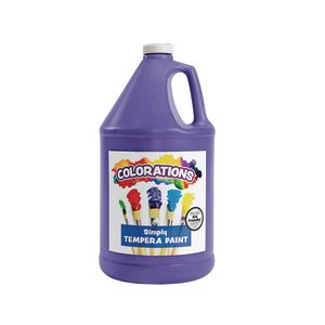 Colorations® Simply Tempera Paint, Violet - 1 Gallon
