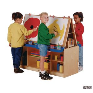 Baltic Birch 4-Child Easel