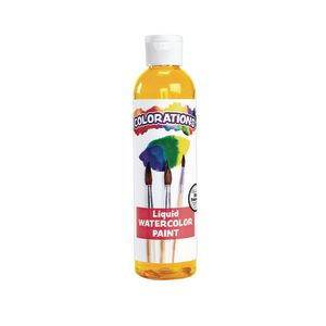 Colorations® Liquid Watercolor™ Paint, Tangerine - 8 oz.