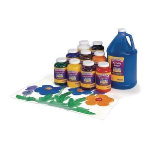 Colorations® Activity Orange Paint - 16 oz.