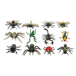 Large Insects & Spiders - Set of 12