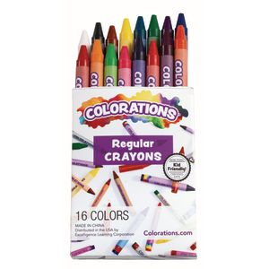 Colorations® Regular Crayons - Set of 16